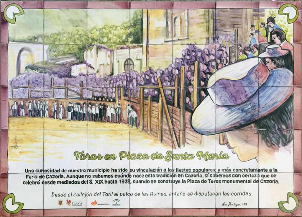 10 - Toros en Plaza de Santa María