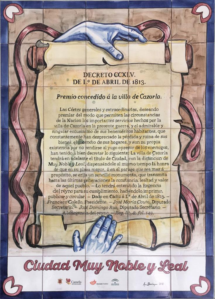 24 - Declaración de ciudad muy noble y leal