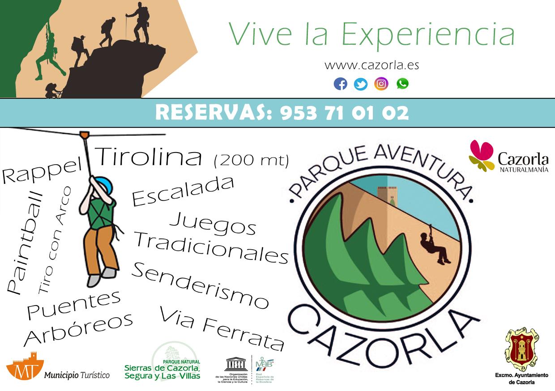 Flyer Parque de Aventuras