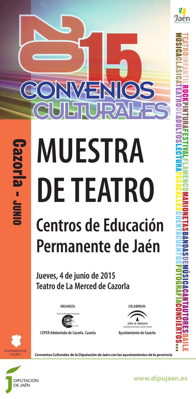 Cultural 2015 cartel Cazorla