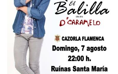 """Abrimos el Festival de Flamenco con Raúl """"El Balilla"""""""