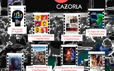 Llega el Cine de Verano a Cazorla