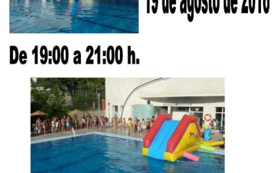 Fiesta Acuática en la Piscina Municipal de Cazorla