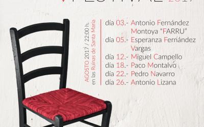 Cazorla vuelve a elegir el mes de agosto para llevar a los tablados el V Festival Cazorla Flamenca
