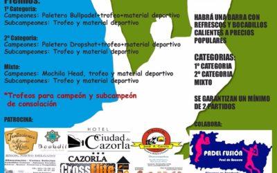 I Torneo de Pádel Feria de Cazorla