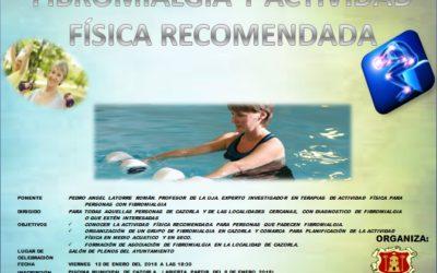 Reunión formativa sobre Fibromialgia y Actividad Física Recomendada