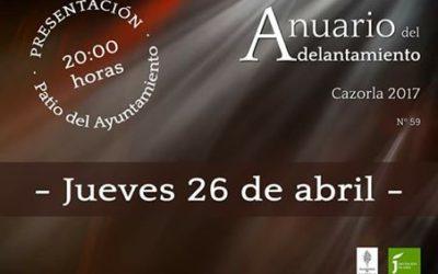 Presentación Anuario Adelantamiento 2017