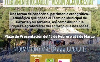 """I Certamen Fotográfico """"Visión Agroforestal"""""""
