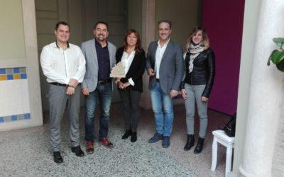 El Ayuntamiento de Cazorla establece líneas de colaboración con la Junta de Andalucía para potenciar el baloncesto base