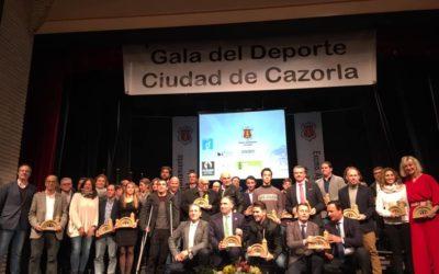 El Circuito Mundial de Jerez, Unicaja de Málaga y Paco Gamero, premiados en la V Gala del Deporte de Cazorla