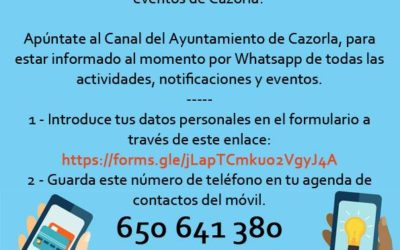 Canal de WhatsApp Municipal
