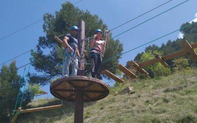 Medio millar de personas disfrutan de las actividades gratuitas del Parque de Aventuras de Cazorla