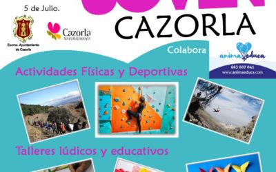Verano Joven en Cazorla Actividades del 22 al 26 de julio