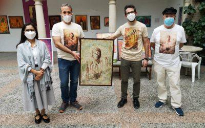 Clausuran la exposición de pintura 'Migrantes' que ha recibido varios centenares de visitas