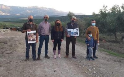 El Ayuntamiento de Cazorla construye un abrevadero en la vía pecuaria de 'Los Portillos' en contribución a la trashumancia y a la fauna del olivar tradicional