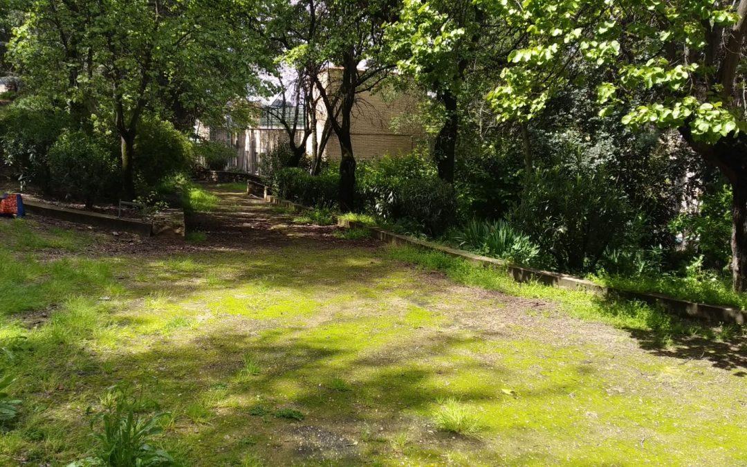 Cazorla transformará el corazón de su ciudad unificando sus parques y creando un gran espacio verde