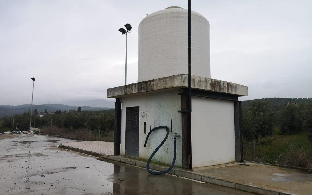 El Ayuntamiento de Cazorla mejora la sostenibilidad ambiental habilitando puntos de carga de cubas para tratamientos del olivar