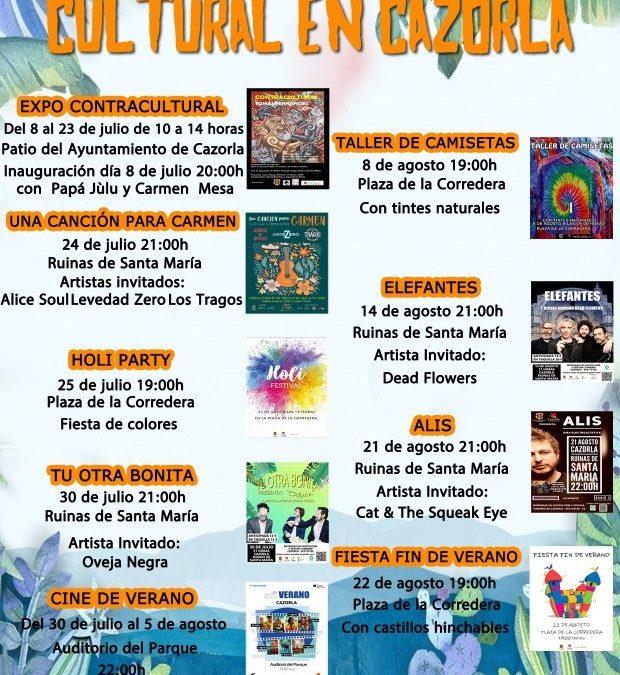 Compra tus entradas: Verano Cultural en Cazorla