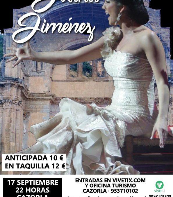 Noche de Flamenco con Joana Jiménez en Cazorla