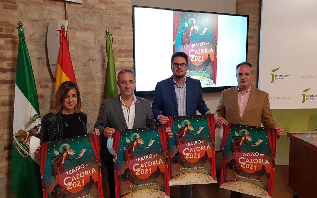 El XXV Festival de Teatro de Cazorla en el que colabora la Diputación ofrecerá 9 espectáculos de octubre a diciembre