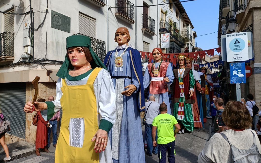 Éxito de público y participación en la II Fiesta del Adelantamiento de Cazorla